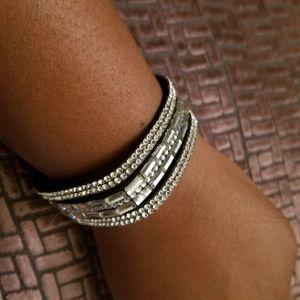 Sparkle Snap Bracelet